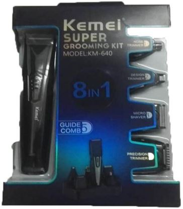 Picture of Kemei KM - 640 8 In Professional Multi-function Shaver