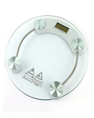 Picture of As Seen on TV Glass Digital Weight Scale - 180kg
