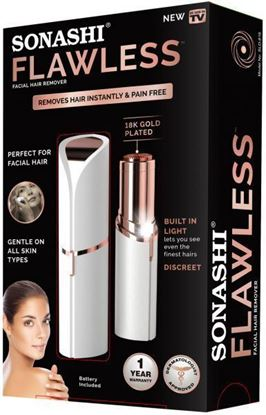 Picture of SONASHI FLAWLESS FACIAL HAIR REMOVER, SLD-816