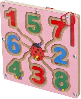 Picture of Magnetic Numbers Puzzle - Purple