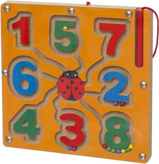 Picture of Magnetic Numbers Puzzle - Orange