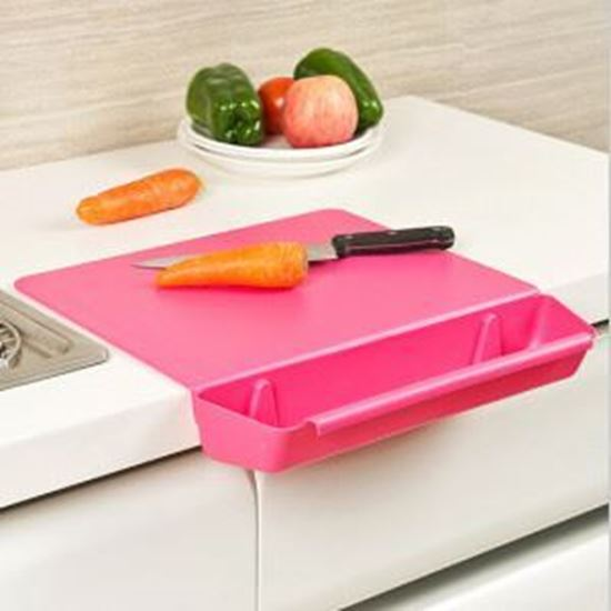 Picture of Plastic Cutting Board With Drawer