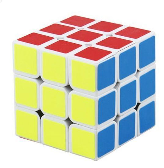 Picture of Three stage Rubik's cube special spring structure children's puzzle toy TC021