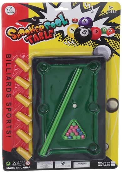 Picture of Snooker Pool Table Toy for Kids