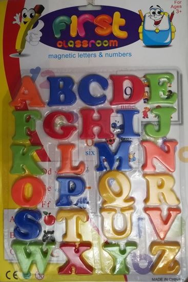 Picture of English Magnetic Letters