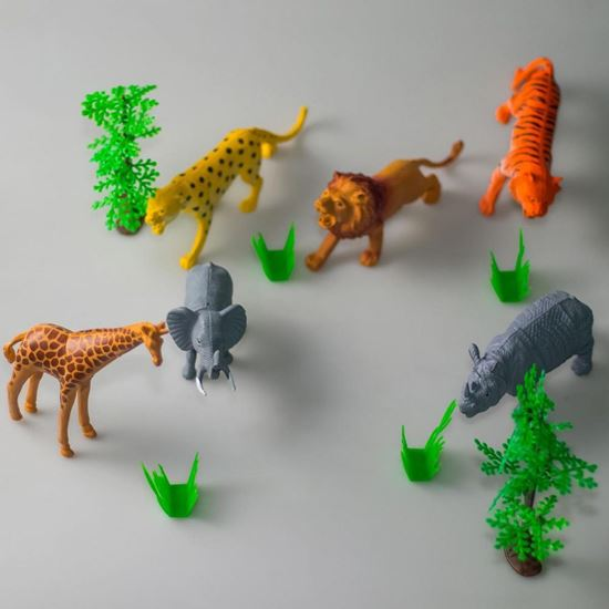 Picture of Forest Animals For Kids With Trees