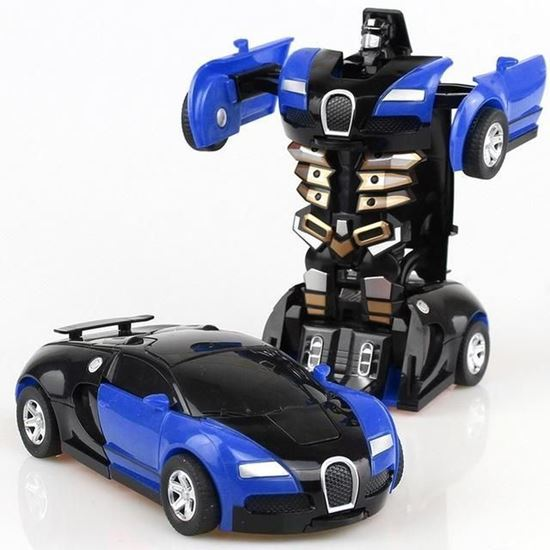 Picture of Transformers' car - children's games - sound - light - movement - Transforming Robot