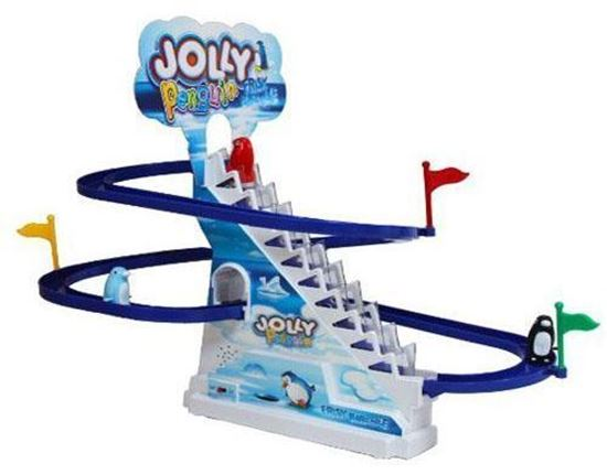 Picture of Jolly penguin firsk paradise, moving stairs and sliding penguins set