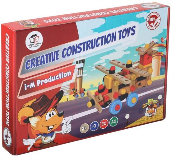 Picture of Creative Construction Blocks for Kids, Multi Color