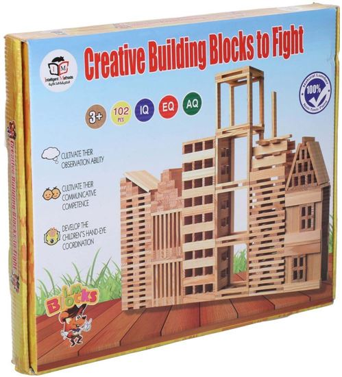 Picture of Creative Building Blocks for Kids, 102 Pieces