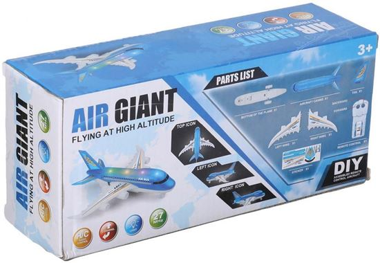 Picture of air Giant Flying at High altitude airplane Toy with Remote Control for Kids