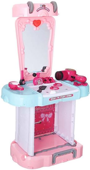 Picture of Fisher 3 in 1 Dressing Table Toy for Kids, 27 Accessories