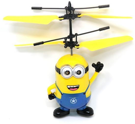 Picture of Sensing yellow aircraft intelligent suspension remote control aircraft hot induction charging children's toys
