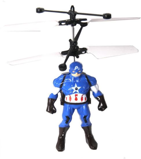 Picture of Flying Aircraft,Captain America