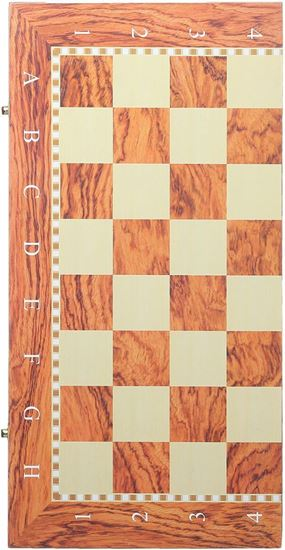 Picture of Classic Wood Chess and Backgammon Board