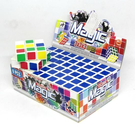 Picture of Pack of 6 Rubik's unisex cubes