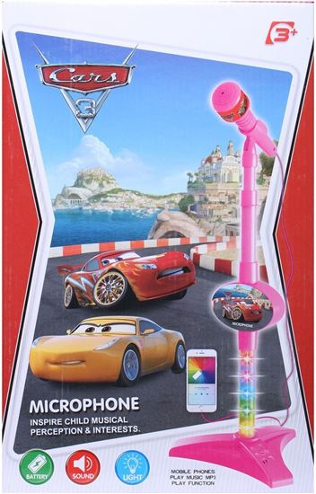 Picture of Microphone Cars Theme - with Light,Sound - Connecting to Mobile