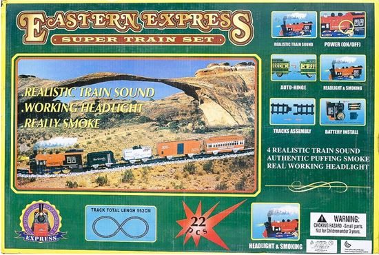 Picture of Eastern Express Super Train Set - 22 Pieces