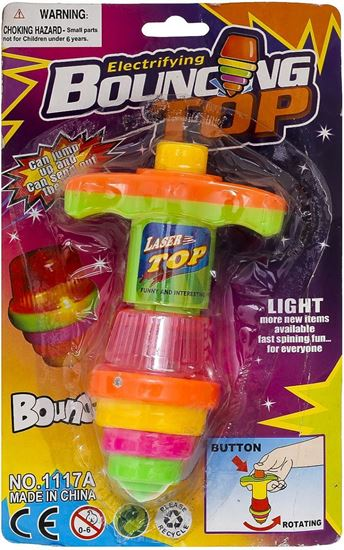 Picture of 1117A Electrifying Bouncing Top for Kids