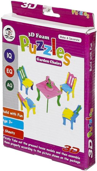 Picture of 3D Foam Puzzles Children Chairs
