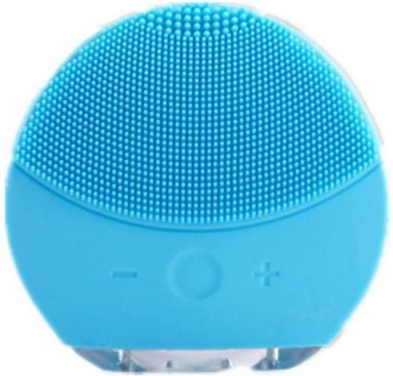 Picture of Facial Cleansing Massage Brush USB Charging & Waterproof Rechargeable (Blue)